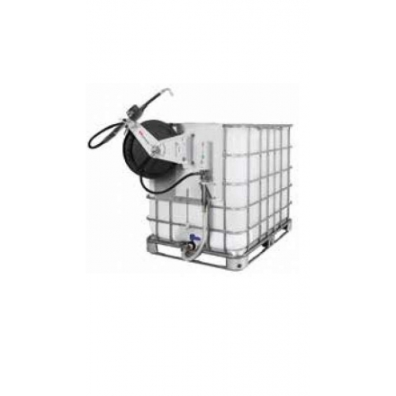 3:1 Oil Pump package with hose reel for 1000 litre IBCS